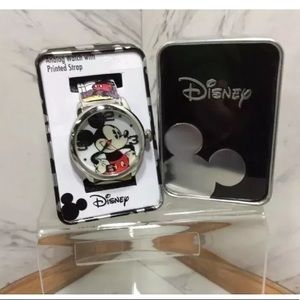 MICKEY MOUSE  Analog WATCH COLLECTOR TIN  NEW